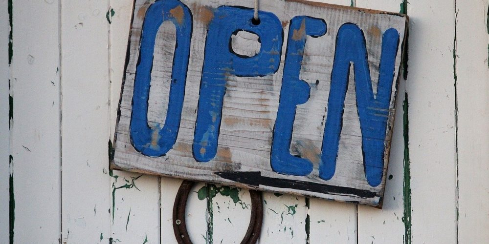 Wir haben wieder geöffnet!